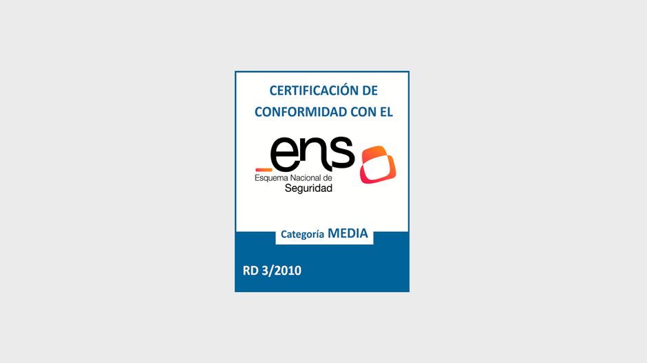 Certificado Seguridad ENS - Thomson Reuters