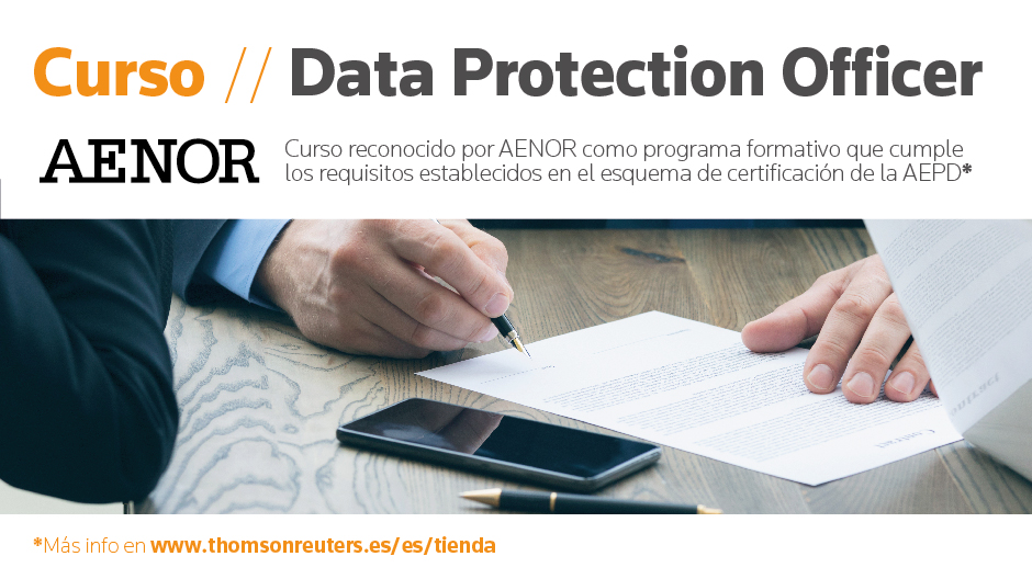 Curso Data Protection Officer - Reconocido AENOR