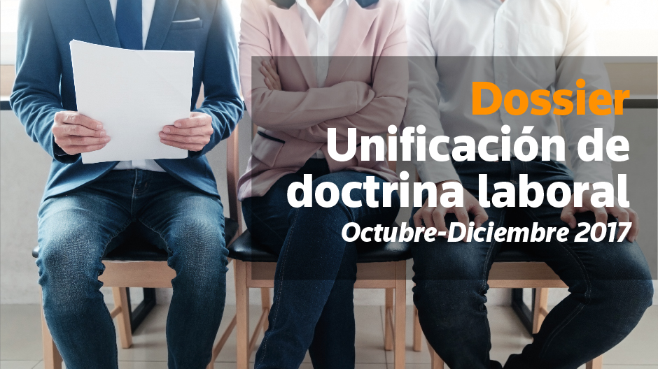 Dossier Unificación Doctrina Laboral