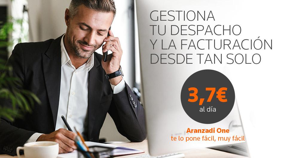 Aranzadi One, software de gestión para abogados