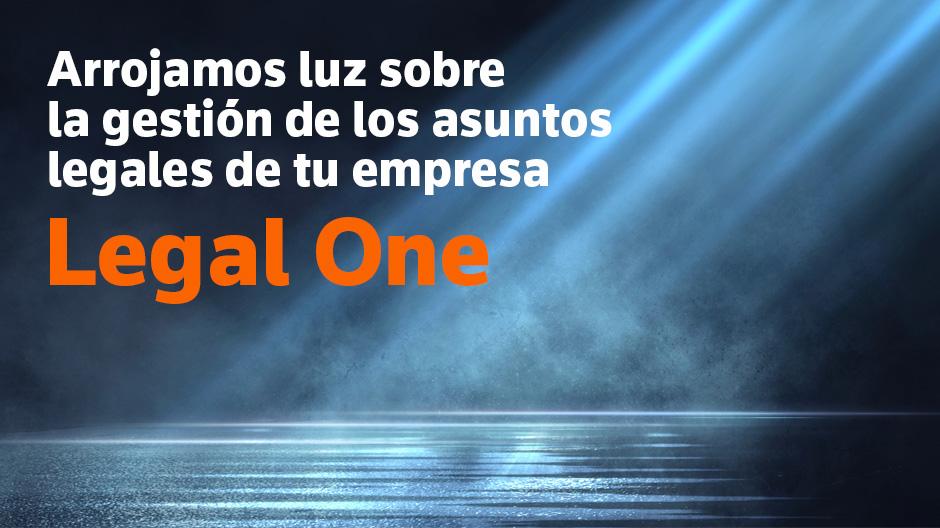 Legal One es el único ecosistema legal que combina la tecnología y las soluciones de información para ayudarte en la transformación digital.