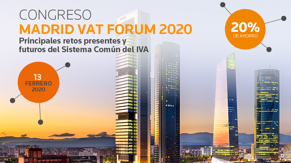 Congreso Madrid VAT Forum 2020